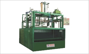 Thick film blister molding machine